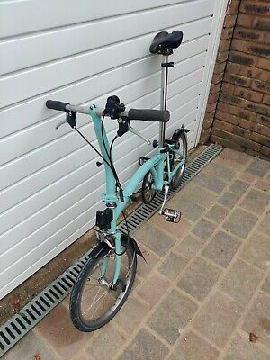 Brompton S2 and Ortlieb bags