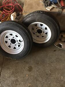 Two Trailer tires 5-30/12