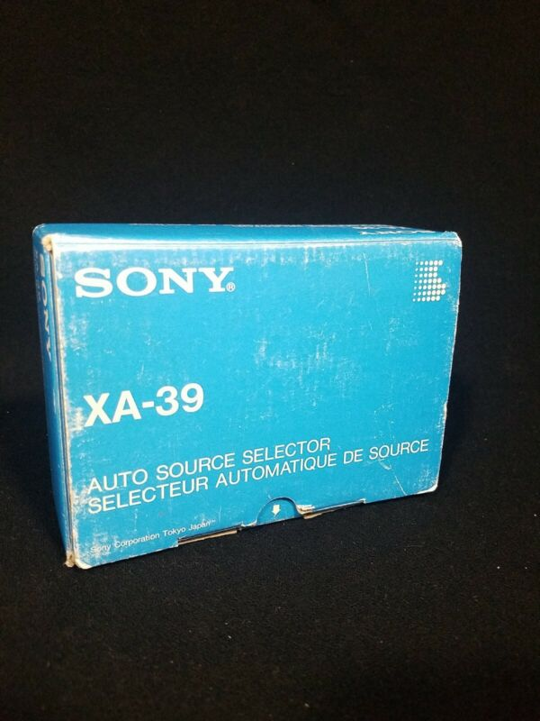 Sony XA-39 Auto Source Selector