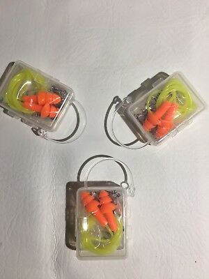 Earplugs 3 Pairs 3 Boxes Silicone Ear Plugs Anti Noise Hearing Protection