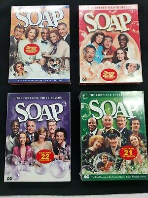 SOAP DVD Set - Complete Series 1-4 Seasons Box Sets 1, 2, 3, 4 - New and Sealed ()
