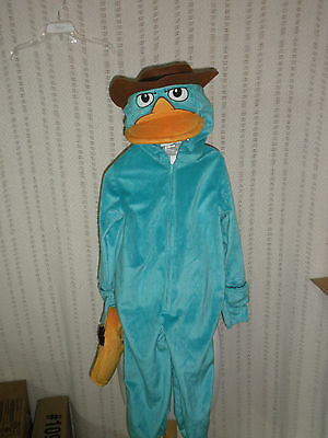 Disney Parks PERRY the PLATYPUS Phineas & Ferb AGENT P Costume XXS (2/3) new  - Platypus Costume