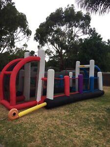 Little kids big kids inflatable ultimate sports arena