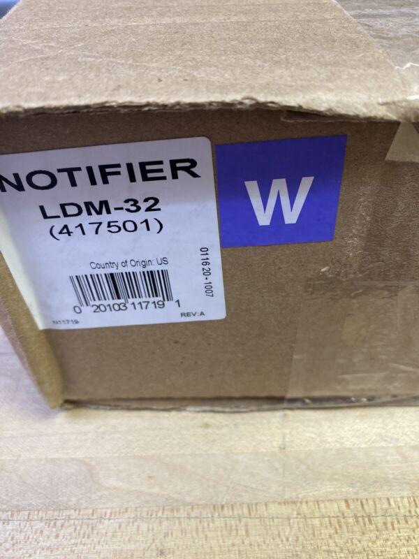 LAMP DRIVER     LDM-32  417501 NEW   NOTIFIER Fire Alarm