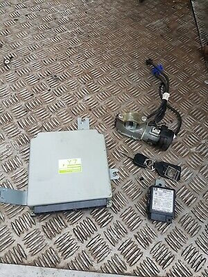 Subaru impreza 99-01 Classic version 6 Y7 ECU plus ignition transponder key etc