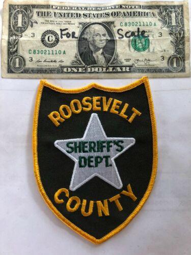 Roosevelt Montana Police Patch (Sheriff