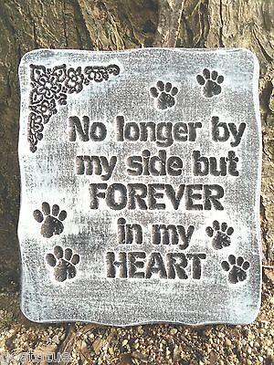 Animal dog cat memorial plaque mold garden ornament stepping stone mould
