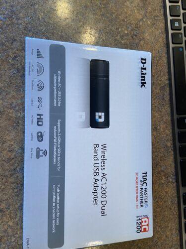 D-Link DWA-182 Wireless Dual Band AC1200 USB Wi-Fi Network A