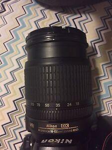 Nikon 18-105mm 3.5-5.6 VR lens