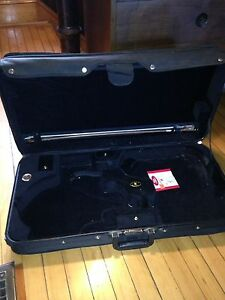Double case violin and f style mandolin