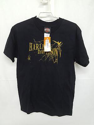 Neu Harley Davidson T-Shirt Shirt Blouse 10-12 Kinder Bluse Hemd grösse