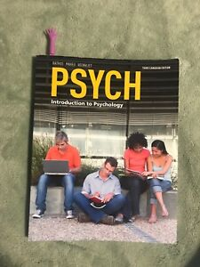 Psych: Introduction to Psychology book