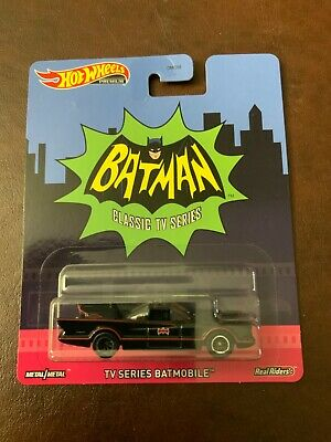 HOT WHEELS PREMIUM TV SERIES BATMOBILE REAL RIDERS