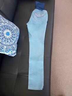 New Light Blue Jeans/ Weekend Maternity