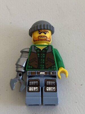 LEGO MONSTER FIGHTERS Minifigure JACK MCHAMMER From Sets 9468, 9465 Mof006