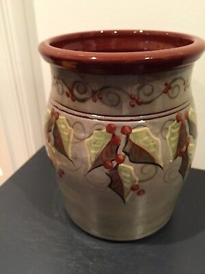 David Eldreth redware pottery; Lancaster, Pa.; vintage Christmas; end of an era