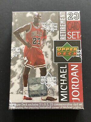 1999 Upper Deck Michael Jordan Factory Sealed Last Dance Retirement 23 Card Set