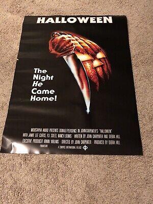 John Carpenters Halloween Movie Poster 27x40