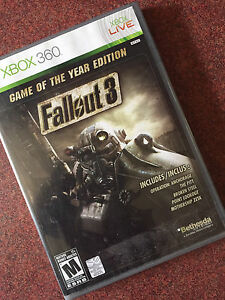 Fallout 3 for XBOX 360 for Sale!