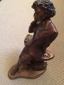 Business woman statue