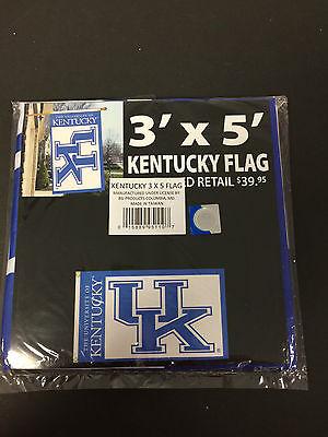 UNIVERSITY OF KENTUCKY TEAM SPORTS DECORATIVE FLAG 3' X 5' N