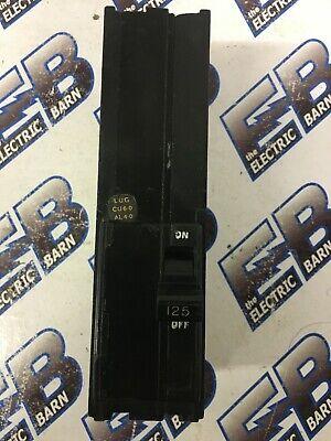 Square D Q12125 125a 240v Circuit Breaker- Warranty Recon W Test Report