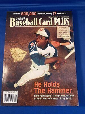 HANK AARON BECKETT BASEBALL CARD PLUS SEPT/OCT 2005 VOL 5 #5 ISSUE 19 288 Pages