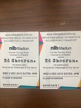 Ed Sheeran Tickets to Sold Out Concert Dianella Stirling Area Preview