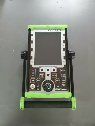 NDT Systems Raptor Flaw Detector.