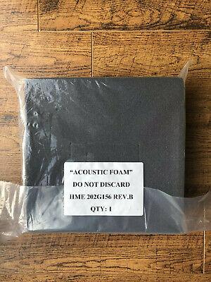 New Acoustic Foam Kit For Drive-thru Speaker Hme 202g156 Rev.b