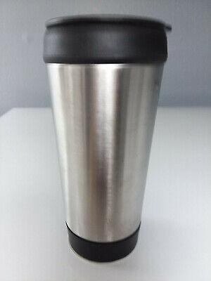 New Stainless Steel Travel Coffee Thermal Mug with Push Lids - 14 oz Mug (14 Ounce Thermal Mug)