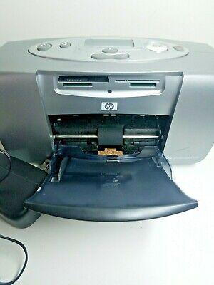 Hp Photosmart 130 Photo Printer with power cord USB Cord Tested