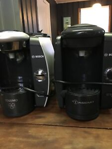 Two tassimo coffee makers