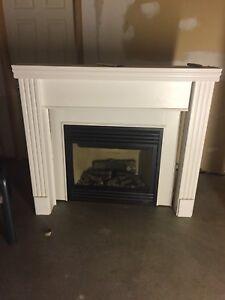 Fireplace- like new