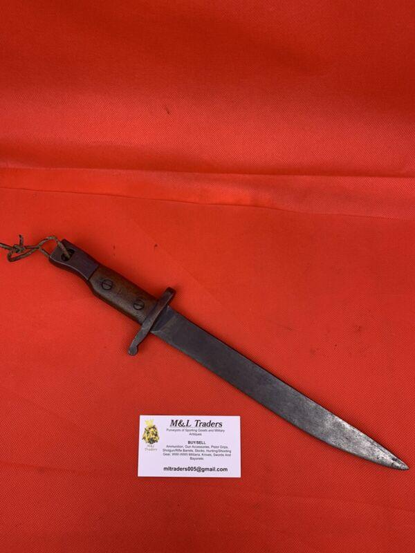 Original WWI/WW2 Canadian Ross Rifle Bayonet