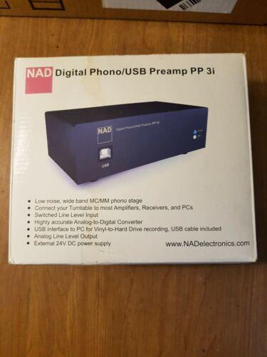 NAD Digital Phono USB Preamp PP 3i  Open Box