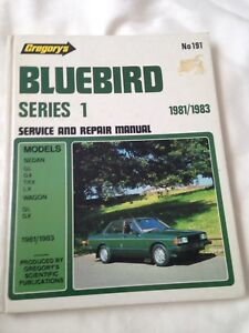 Datsun manual gumtree australia free local classifieds gregorys no191 1981 1983 datsun bluebird series 1 service manual fandeluxe Images