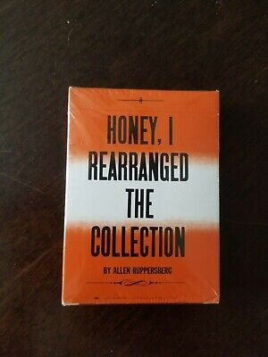 Allen Ruppersberg Honey, I rearranged the Collection Playing Cards Day-Glo -