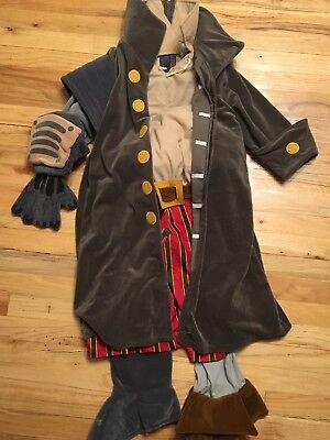 Cyborg Halloween Kostüme (Disney Treasure Planet John Silver Cyborg Pirate Halloween Costume XS 4 5)