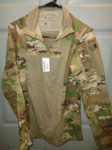 MEDIUM * US Army Combat 1/4 Zip Shirt ACS Type II * Scorpion OCP II Camo * NWT