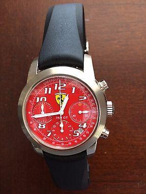 Girard Perregaux Ferrari 360GT Mens 18K White Gold Chrono Watch NEW PHOTOS Price