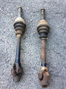 2 Front Axles from a 2000 Polaris Sportsman