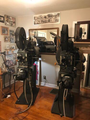 35mm Simplex E-7 theatrical movie projectors