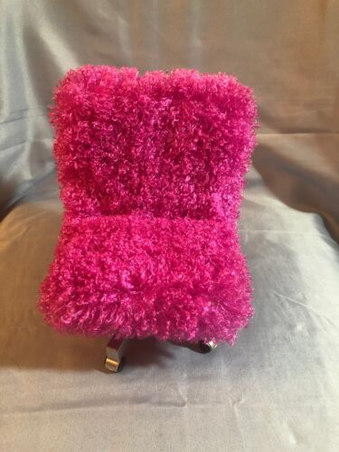 Hot Pink Chair Fit 18 Doll Used Excellent Condition - $6.50