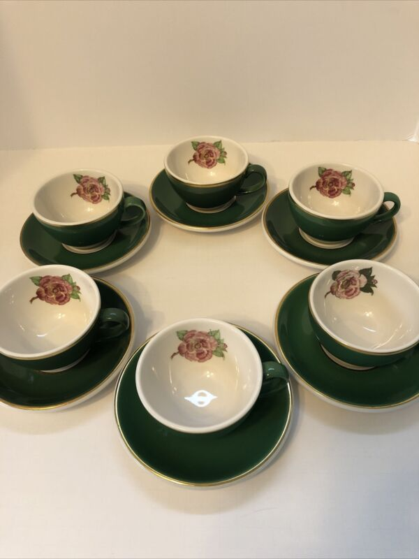 The Grand Hotel Mackinac Island Camellia Rose Cup and Saucer