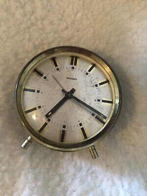 vintage alarm clock used