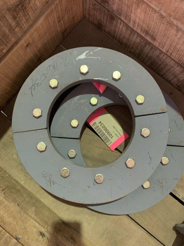 Wolf Material Handling System IDLER, CDM 437MM 142 SRSEGMENTAL RIM PLATES