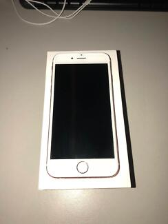 iPhone 6S Rose Gold 64GB in perfect condition ($450)