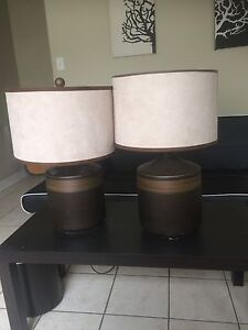 Large modern lamps