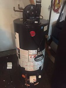 40 gal rheem gas water heater